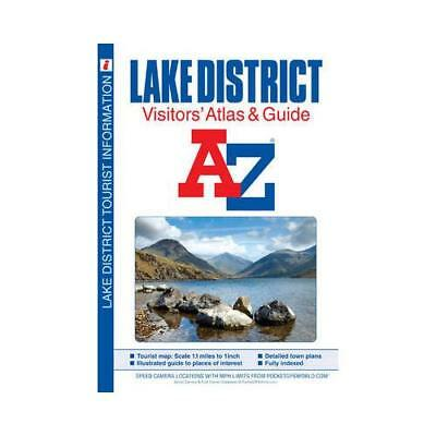 Lake District Visitors' Atlas by Geographers' A-Z Map Company (author)