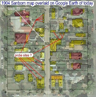 Durango, Colorado~Sanborn Map©sheet made in 1904 with 13 Map sheets
