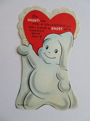 Vintage Valentine, Flat, Friendly Ghost