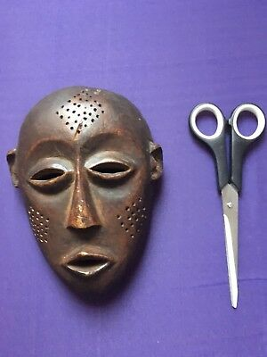 Antique African Passport Wood Mask Masks
