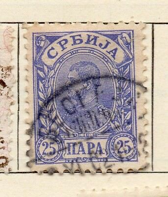 Serbia 1901-02 Early Issue Fine Used 25pa. 267041