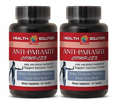used for centuries - ANTI-PARASITE COMPLEX  -  eliminate parasites - 2 Bot, 120C