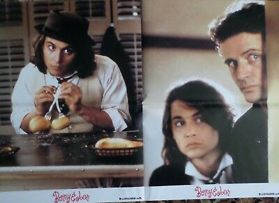 BENNY & JOON,  4 Aushangfotos, A 3, Johnny Deep, Mary Stuart Masterson, USA 1993