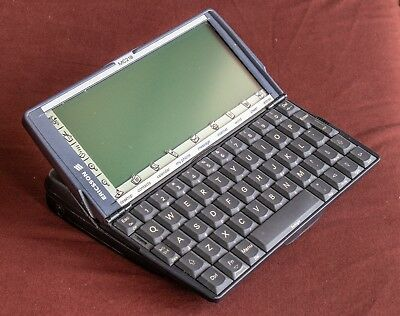 Ericsson MC218 (re-branded Psion 5mx) PDA with extras:  excellent condition