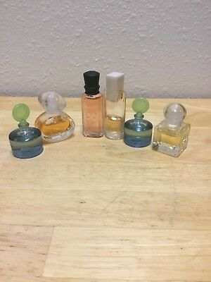 Small Collection Of New & Vintage Miniature  Perfume Bottles