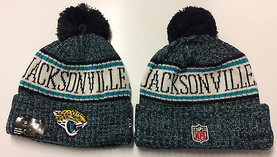 2018 Jacksonville Jaguars New Era Knit Hat On Field Sideline Beanie  Stocking Cap 8283722b4