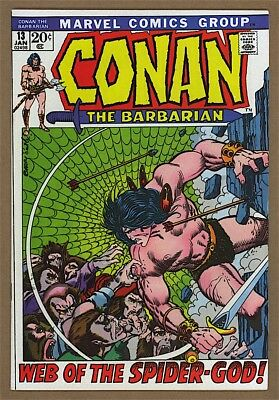 Conan the Barbarian #13 VF+ Marvel 1972 Barry Windsor-Smith Cover