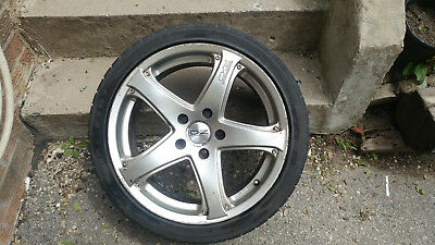 Summer Tires 225/40R18 with 4 OZ Racing Rims
