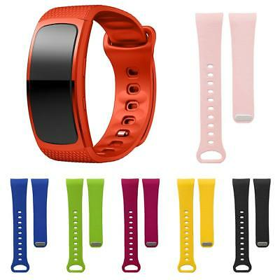 Colorful Silicone Watch Band Bracelet Wrist Strap for Samsung Gear Fit2 SM-R360