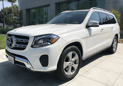 Other GLS 450 Sport Utility 4D Polar White Mercedes-Benz GLS with 24,956 Miles available now!
