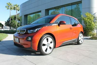 i3 Hatchback 4D olar Orange BMW i3 with 17,012 Miles available now!