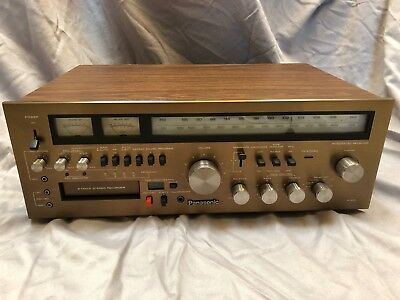 Panasonic RA-6600 AM/FM Stereo Receiver with 8 Track Player/Recorder