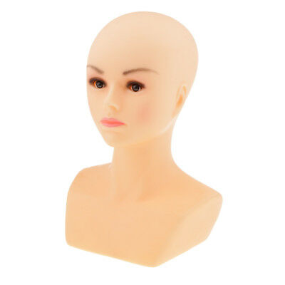Free Stand Female Make-up Mannequin Head Wig Hat Jewelry Display Stand Store