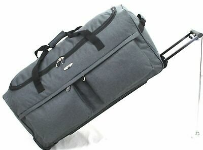 "XXL Large 30"" Split Travel Luggage Wheeled Trolley Holdall Suitcase  Duffel Bag"