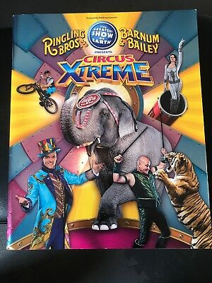Ringling Brothers Barnum & Bailey Circus Program Book Circus Xtreme with Poster