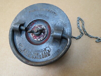RARE Original WWII Boeing Aircraft B-17 Flying Fortress Fuel Cap Assy.