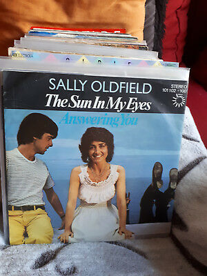 "Single7"" Sally Oldfield - The Sun In My Eyes .....Siehe Foto"