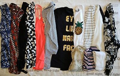 Size 8 Tops Bundle New Look H&M Primark Etc