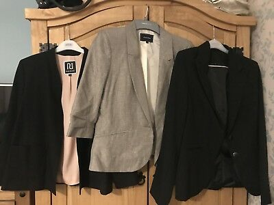 Womens Blazer Bundle Size 10 River Island New Look