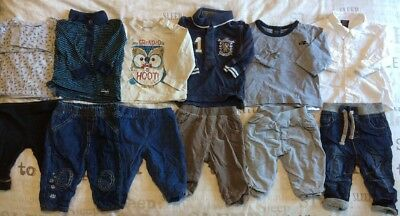 Boys Tops And Trousers Bundle 3-6 Months Next Mothercare Bhs Etc