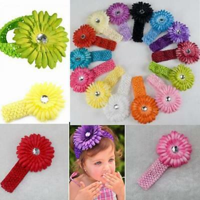 3X Kids Girl Baby Toddler Flower Headband Hair Band Accessories Headwear Gift S