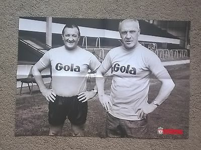Liverpool F.c. Bob Paisley Tribute Double-Side Poster