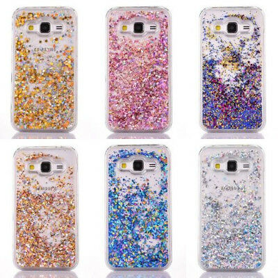 Bling Glitter Moving Liquid Protective Cover For Samsung Galaxy S5/S6/S6 Edge