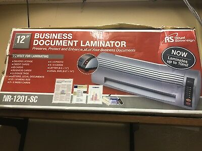 "12"" laminator laminating business machine"