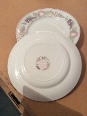 Boots Orchard 4x Dinner Plates