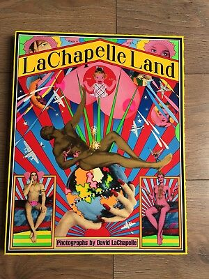 Lachapelle Land: Photographs Hardback Book In Case