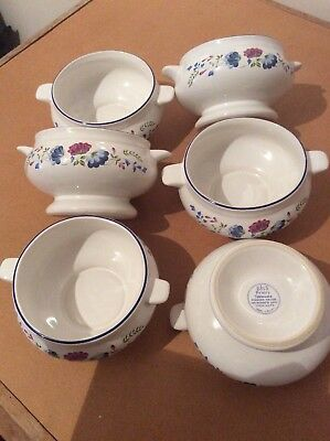 Bhs Priory 6x Soup Bowls
