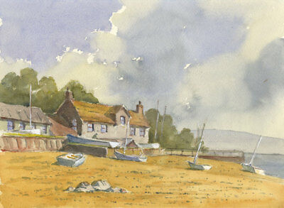Duncan Russell - Contemporary Watercolour, Burnham Overy STaithes