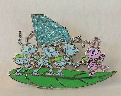 Disney WDI 60th Diamond Celebration LE 250 Pin Princess Dot Blueberries Bug Life