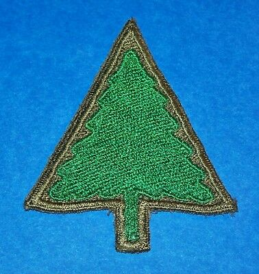 RARE ORIGINAL CUT-EDGE POST WW2 GERMAN MADE 91st INFANTRY DIVISION PATCH