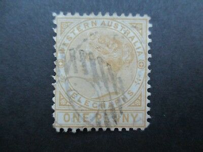 Western Australia Stamps: 1d Used - Great Item  {q43