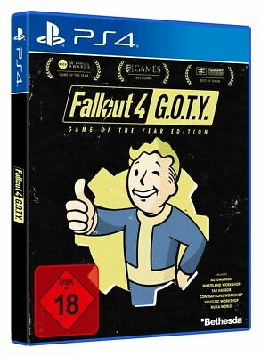 FSK18- Fallout  4  PS-4  GOTY - Bethesda 41867 - (SONY® PS4 / unsortiert/sonstig