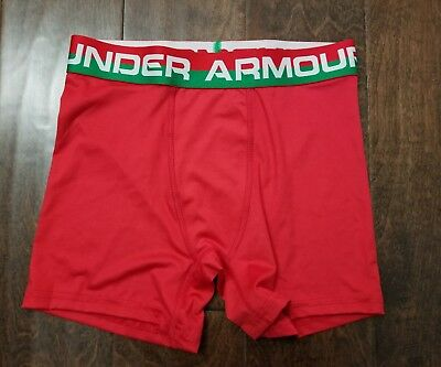 New Boy's UNDER ARMOUR Heat Gear Boxer Brief size L
