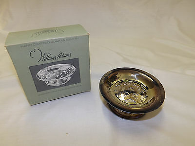 Vintage Silver-plated Butter Curler Dish Press William Adams