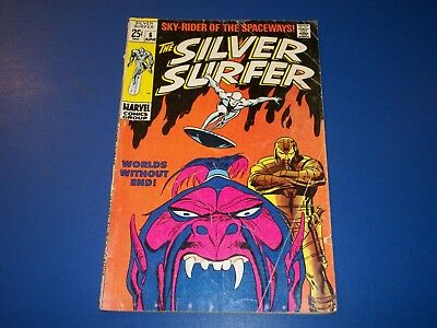 Silver Surfer #6 Silver Age Comic Wow GVG