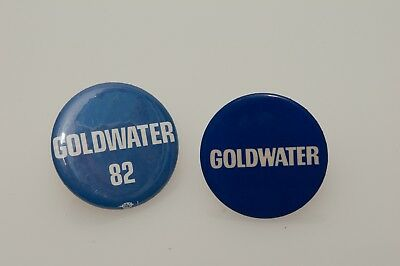 Barry Goldwater 1982 election pins