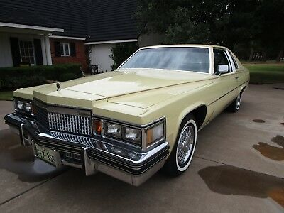 1979 Cadillac DeVille  1979 Cadillac Coupe Deville with 4,731 original miles. Like new!