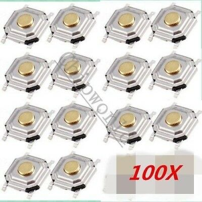 100pcs Tact Switch Button SMD Micro Switch 5x5x1.5MM 5*5*1.5MM