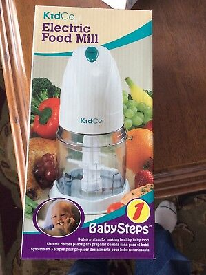 NEW - KidCo - Electric Food Mill - FREE SHIPPING