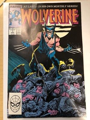 WOLVERINE 1988 SERIES #1 High Grade Copy.  Cleaned And Pressed