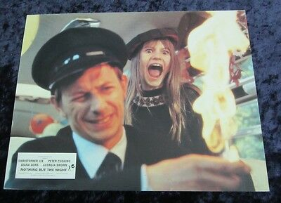 Nothing But The Night lobby card # 2 PETER SASDY (1973)