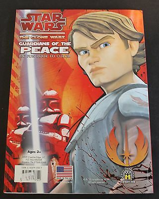 Star Wars - The Clone Wars Gaurdians of the Peace Big Fun Color Book (BX3)