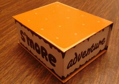 Girl Scout SMORES S'MORE BOX! Cookie Reward Prize! VERY COOL!! WOW!