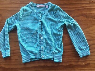 Country Road Girls cotton striped Cardigan size 4