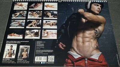 Calendar: Rick Day; Players 2015 By Bruno Gmunder In Excellent Condition!!!