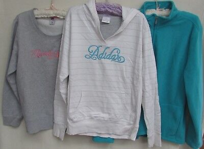 Bulk lot Ladies size 18 Tops/ Jackets Adidas, Russell & Target